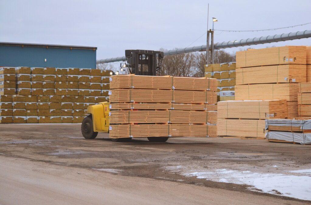 Industrializarea lemnului - cherestea